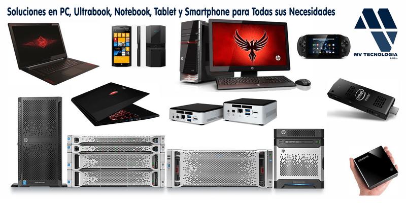 Soluciones en PC, Ultrabook, Notebook, Tablet y Smartphone para Todas sus Necesidades.